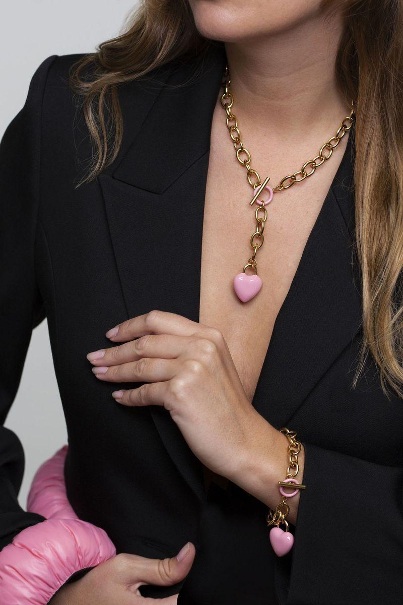 The Kiss Bracelet Pink