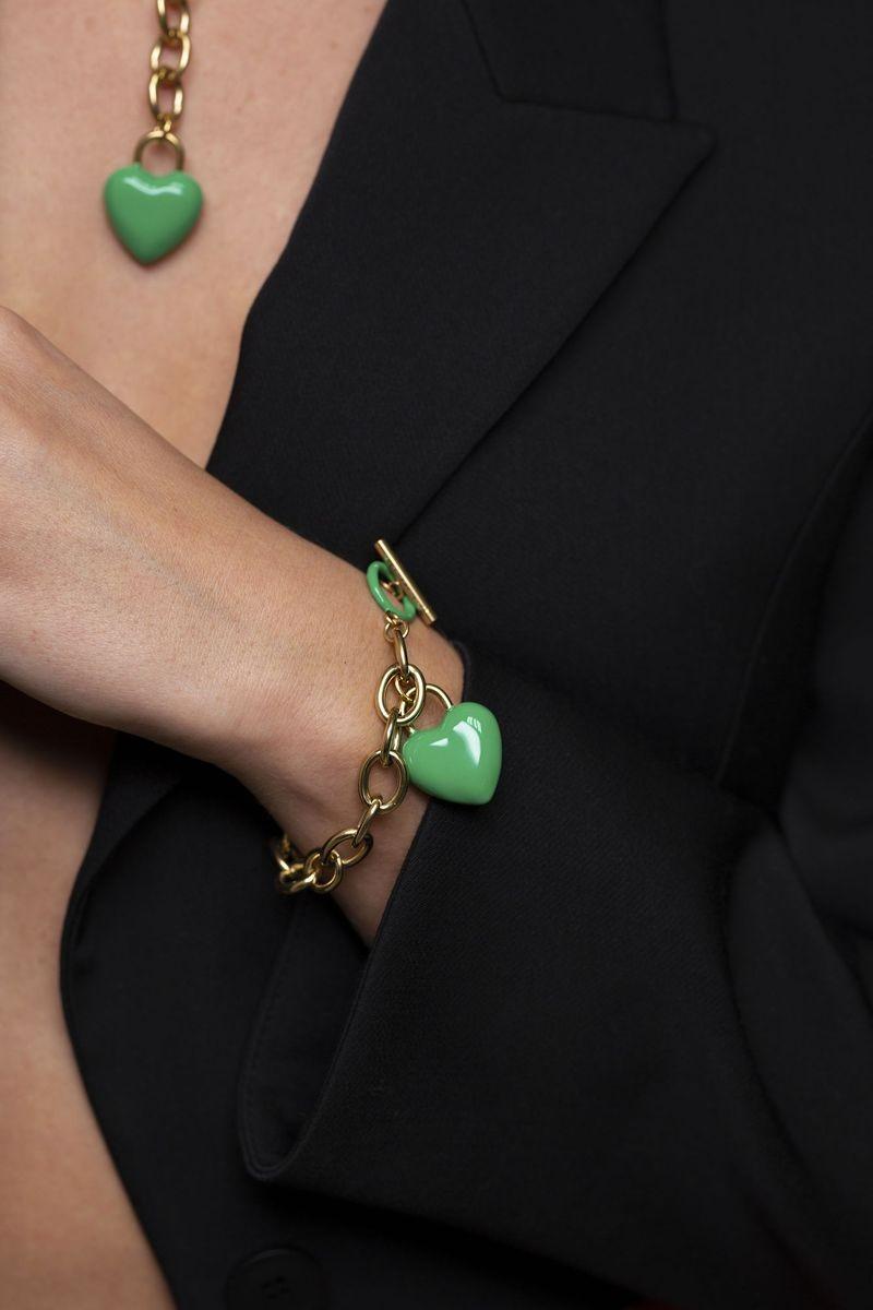 The Kiss Bracelet Green